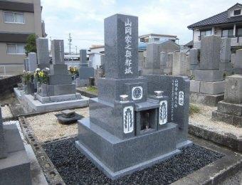 お墓施工事例1