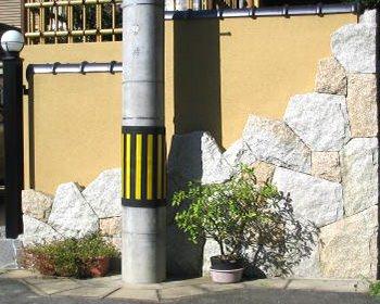 壁の石組み