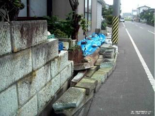 塀の倒壊3